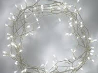 Fairy lights for pealight canopy