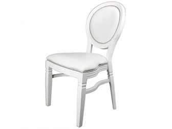 White Louis Chairs