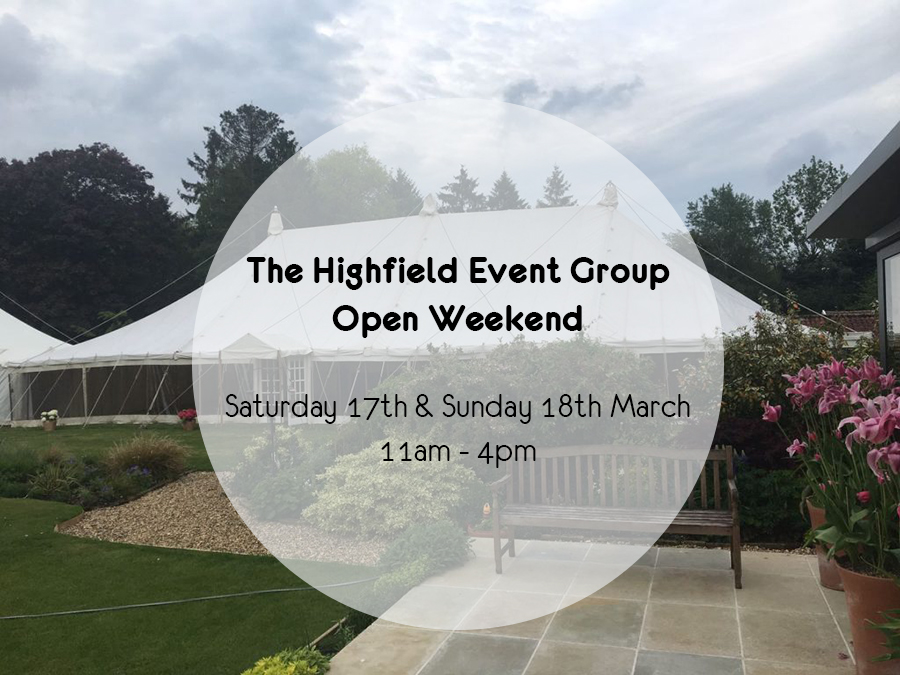 Wedding Open Weekend