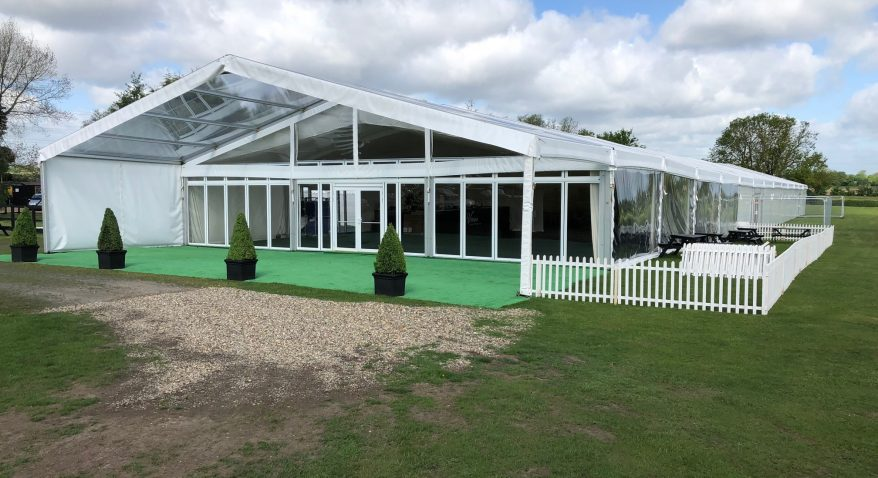 long term hire marquee
